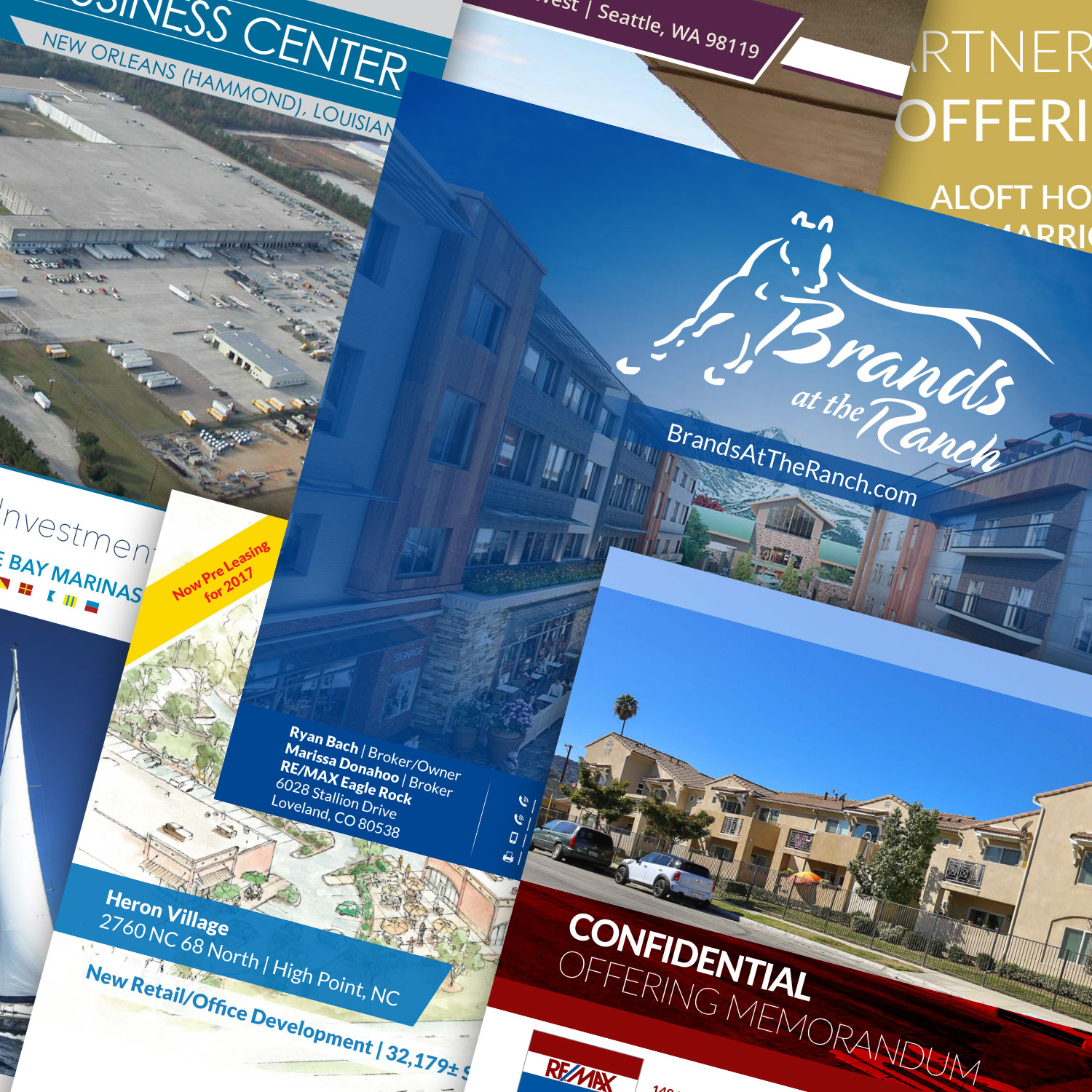 The Best Real Estate Graphic Design and Web Design